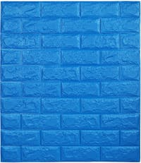 Luxurious Wallpaper Foam Brick - Dark Blue