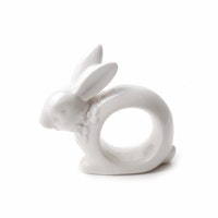 VIVERE Napkin Ring Rabbit Hole