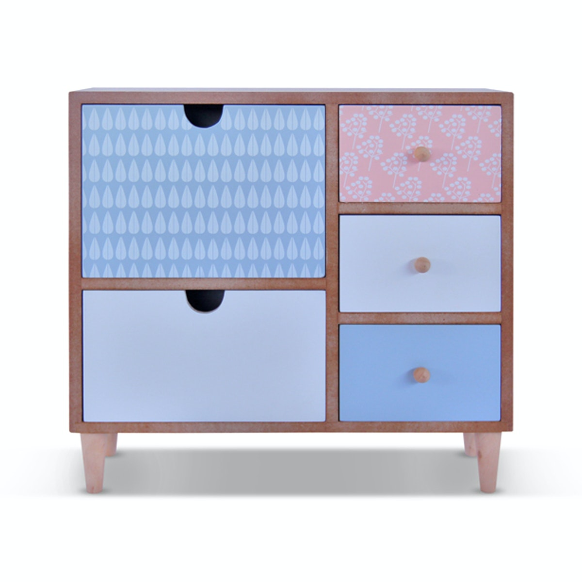 Vivere Jewelry Box Multicolor Drawers Mix