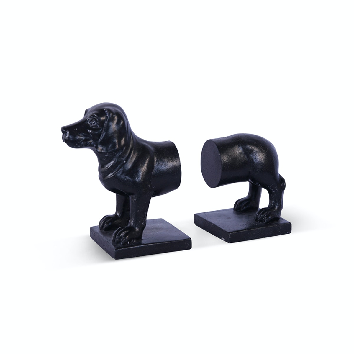 Vivere Book End Basset Hound