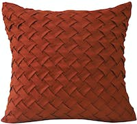 VIVERE Cushion Cover Cmas Woven Red 45X45Cm