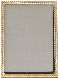 VIVERE Photo Frame Std Braid Rose Gold 5X7Inch