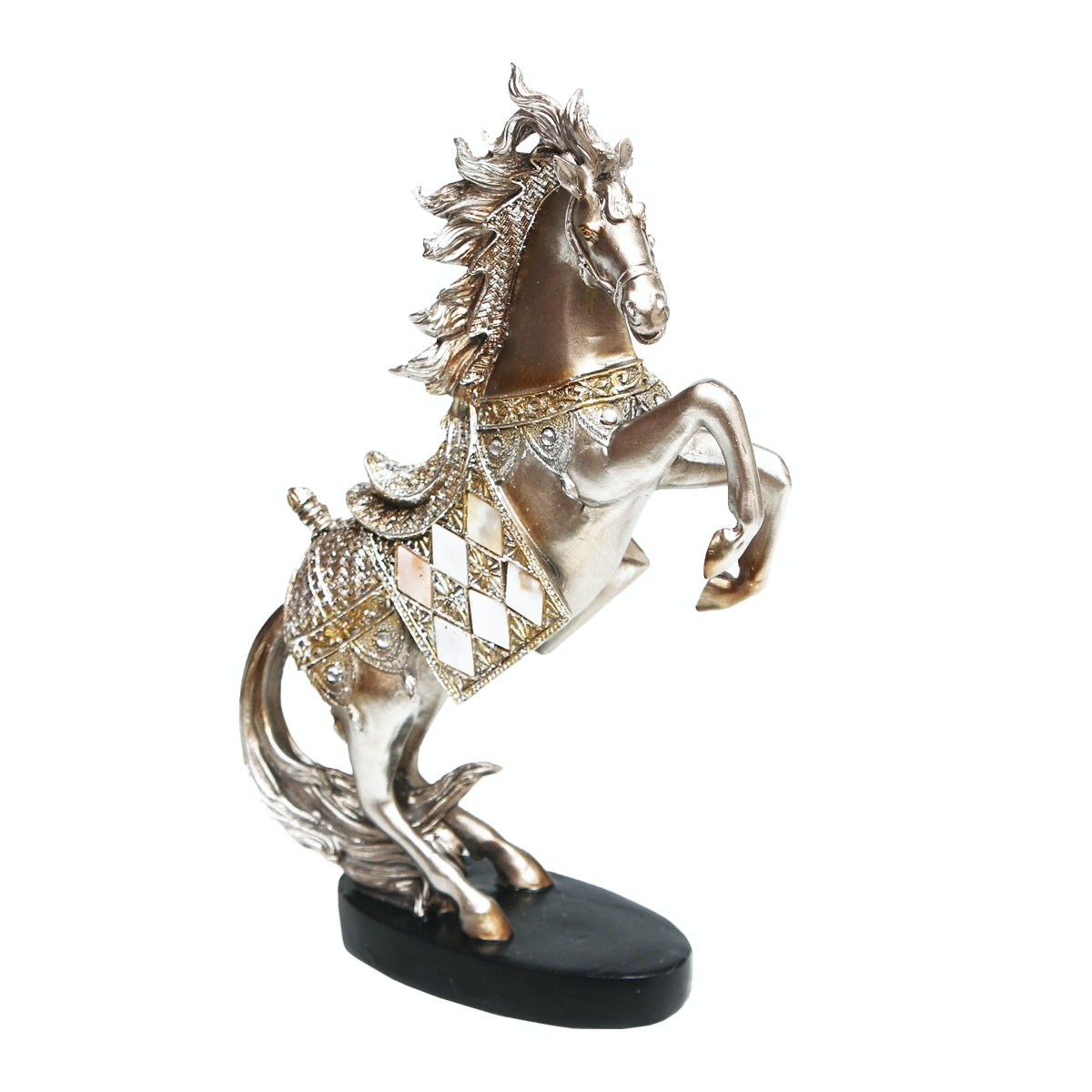 Vivere Object Horsy Silver 19.5x7x30.5cm