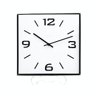 Vivere Wall Clock Square Straight 30cm