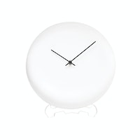 Vivere Wall Clock Bowly White 30cm