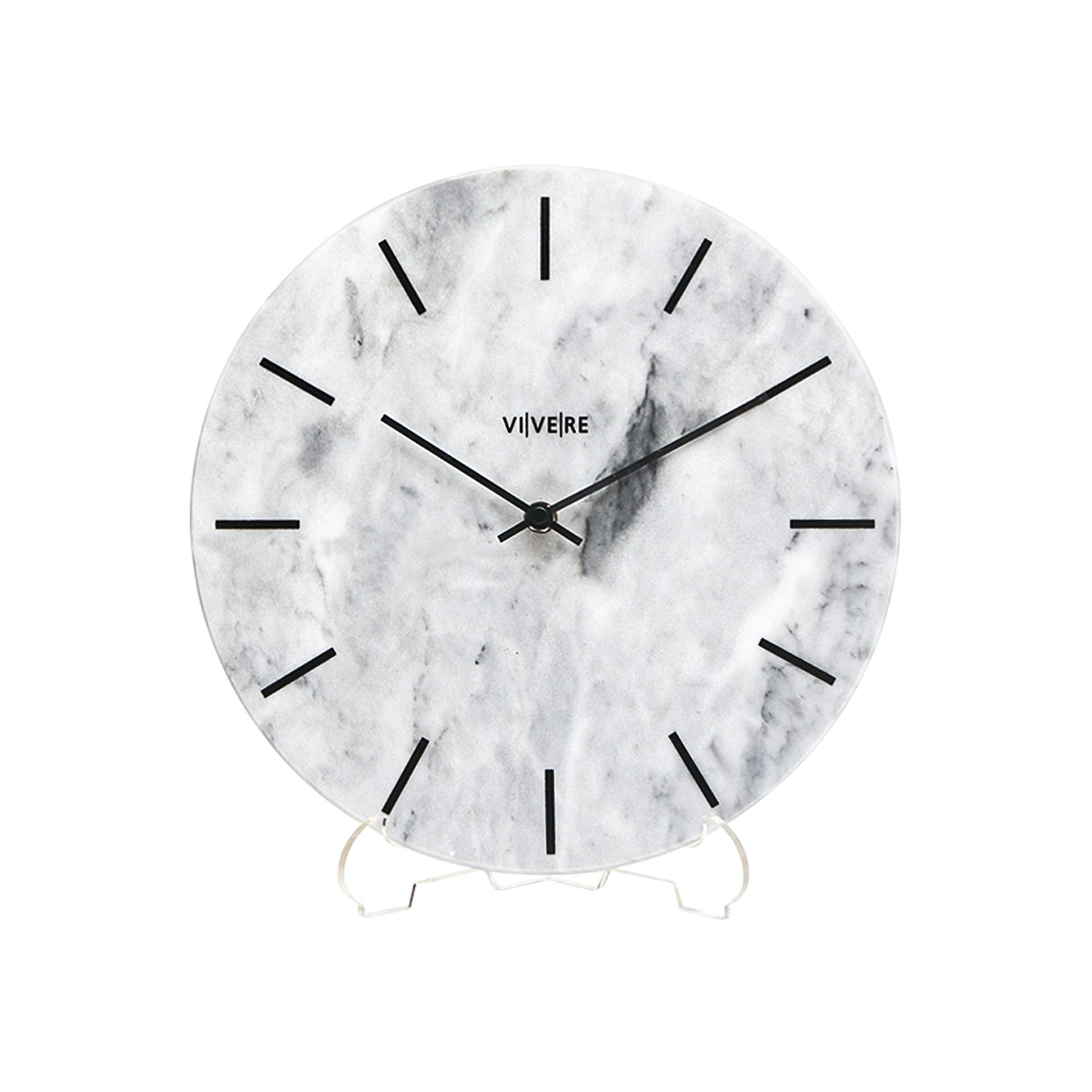 VIVERE Wall Clock Marble Gray 30cm
