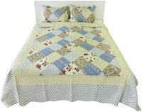 Vintage Story Bedcover Country Royal A01