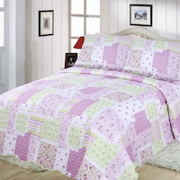 Vintage Story Bedcover Shabby P06