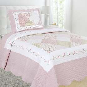 Vintage Story Shabby Bedcover 150X200 P1C