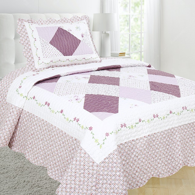 Vintage Story Shabby Bedcover 150X200 P1D