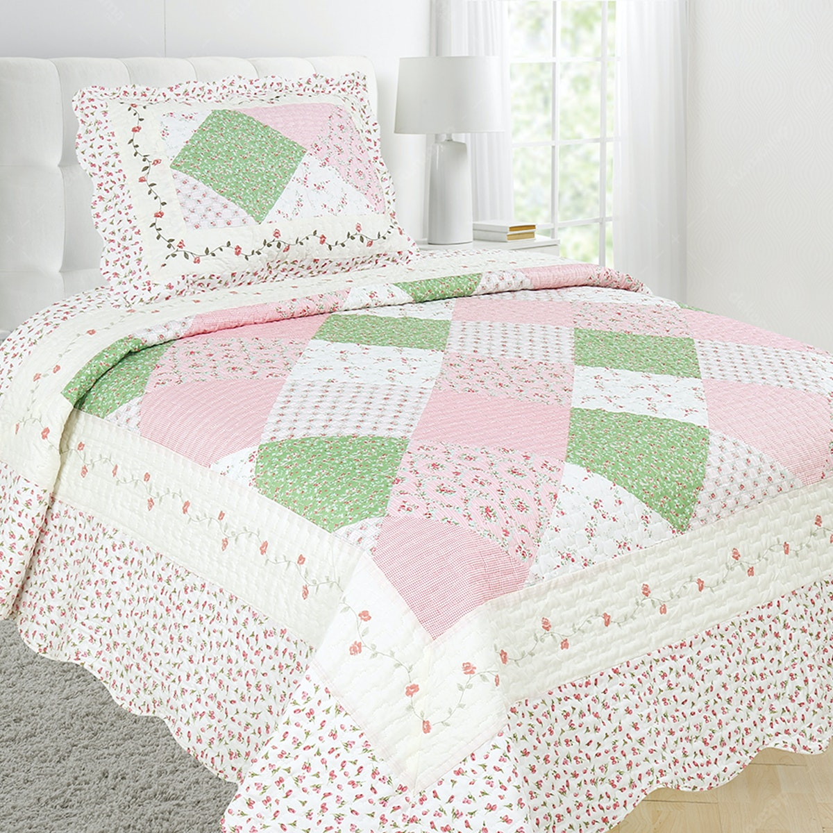 Vintage Story Shabby Bedcover 150X200 P1F