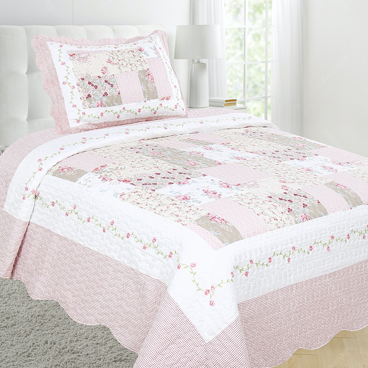Vintage Story Shabby Bedcover 150X200 P1I