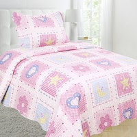 Vintage Story Shabby Bedcover 150X200 P1J
