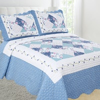 Vintage Story Shabby Bedcover 220X240 P22