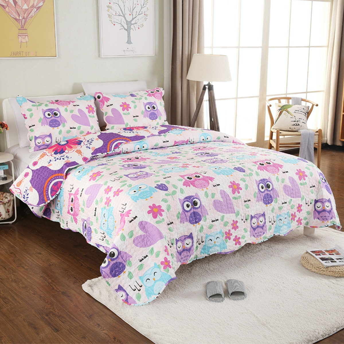 Vintage Story Shabby Bedcover 150X200 A09B150