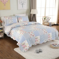 Vintage Story Shabby Bed Cover Set Size Single 150x200 AA2