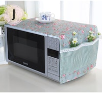 Vintage Story Penutup Cover Microwave Oven Shabby 32x98cm A7