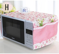 Vintage Story Penutup Cover Microwave Oven Shabby 32x98cm A6