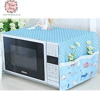 Vintage Story Penutup Cover Microwave Oven Shabby 32x98cm A2