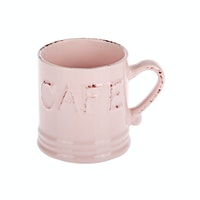 J A R A K Dusty Pink Cafe Mug