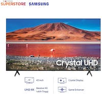 Samsung UHD 4K Smart LED TV 43 Inch - 43TU7000