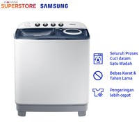 Samsung Mesin Cuci Twin Tube 7.5 KG - WT75H3210MB