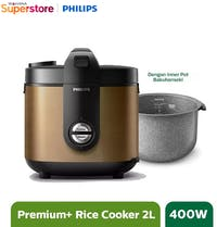 Philips Rice Cooker 2 L - HD3138/34 Gold