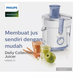 Philips Daily Collection Juicer - HR1811/71
