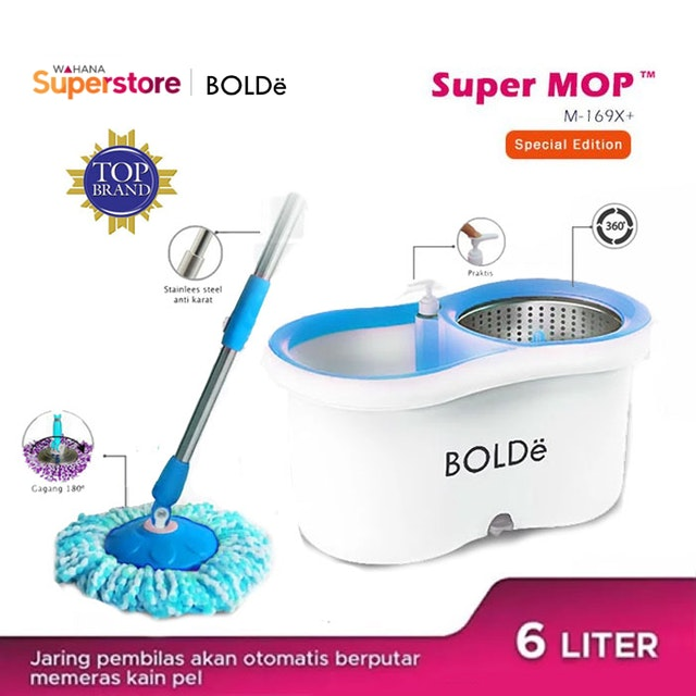 Bolde Super MOP M-169X+ Blue Special (Stainless)