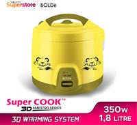 Bolde Rice Cooker Super Cook 3D Maestro - Yellow