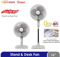 Cosmos Stand Desk Fan 16 Inch - 16SNONY