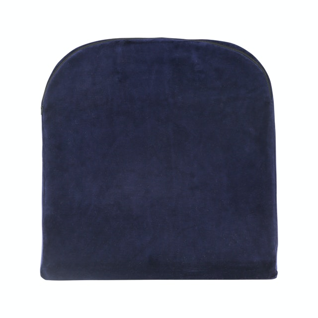 Willow Pillopedic Seat Cushion Memory Foam (Blue)