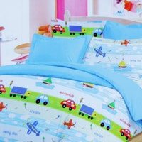 Star Sprei Motif Travel Time 90x200x20