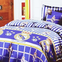 Star Bedcover Motif Real Madrid 160x230