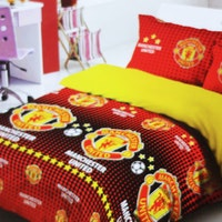Star Bedcover Motif Manchester United 160x230