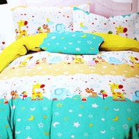 Yukero Sprei Motif Good Night Sweet Dream Toska 180x200x20