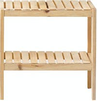 Yuri Ruci Wooden Shelf 50cm