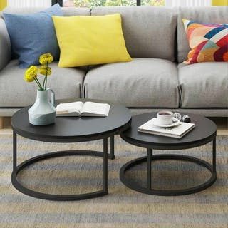Yuri Fugo Coffee Table Metal Black