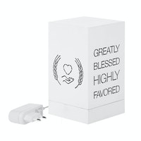 Zeven Lantern Box - Blessed - Full Color Lamp