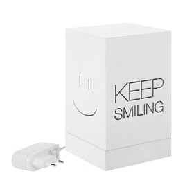 Zeven Lantern Box - Keep Smiling - Full Color Lamp