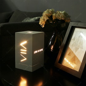 Zeven Lantern Box - Less is More - Warm White Lamp