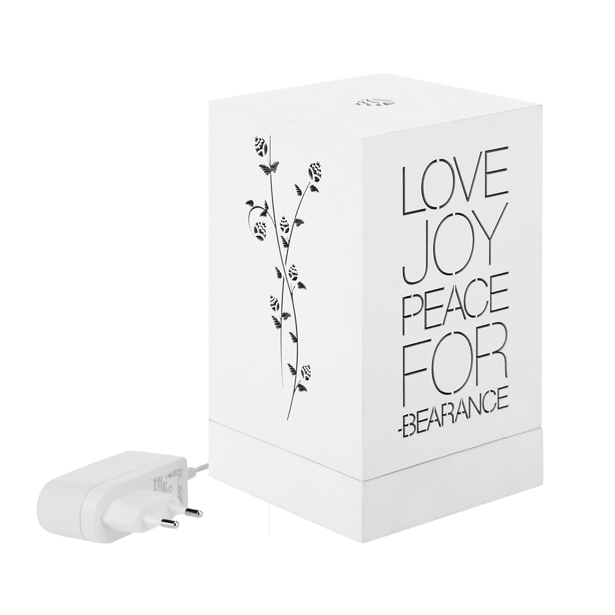 Zeven Lantern Box - Love Joy Peace - Full Color Lamp