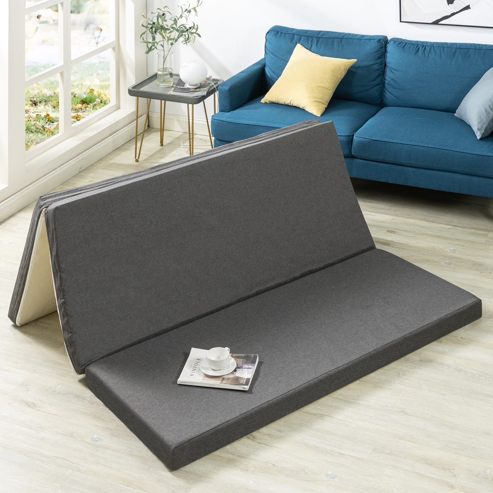 Zinus TriFold Mattress Topper Positive Foam Uk 120x200 Tebal 7.5cm