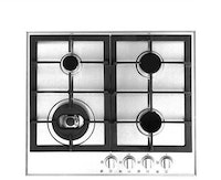 FRANKE Gas Hob 4 Burners Stainless FH640S 604 XS